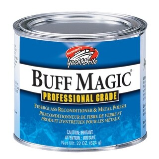 Shurhold Buff Magic Compound Surface Reconditioner and Metal Polish YBP-0101 Surface Reconditioner & Metal Polish
