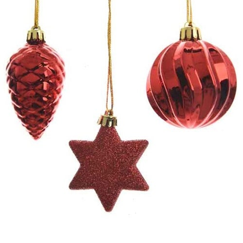 Red Shatterproof Ornament
