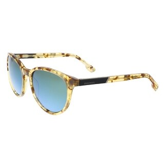 Diesel DL0123 53Q Light Tortoise Round Sunglasses - 54-17-40