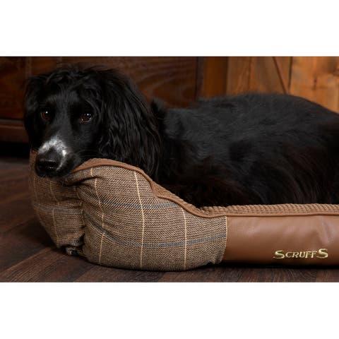 Scruffs Windsor Box Dog Bed - Chestnut