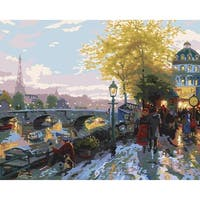"Paint By Number Kit 16""X20""-Paris Eiffel Tower"