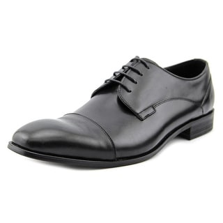 Kenneth Cole Reaction H-eel The World Men Cap Toe Leather Oxford