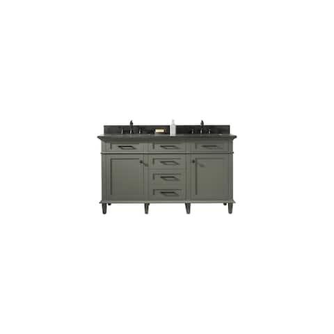 "Legion Furniture 60"" PEWTER GREEN DOUBLE SINK VANITY WLF2260D-PG"