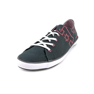 DC Shoes Cleo Women Round Toe Canvas Black Skate Shoe