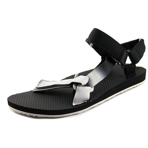 e6f65ac12 Teva Original Universal Gradient Men Open-Toe Canvas Black Sport Sandal