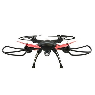 TechComm Raven C RC Quadcopter Drone with 0.3MP Camera & 6-Axis Gyro