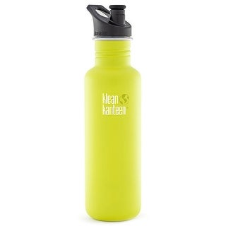 Klean Kanteen Classic 27 oz. Bottle with 3.0 Sport Cap - Lime Pop