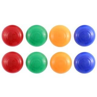 """Unique Bargains 8 Pcs Round 1.6"""" Magnet Pin Button School Office Home Shop Assorted Color"""