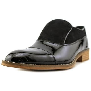 Hardy NAOMI Men  Round Toe Patent Leather Black Oxford