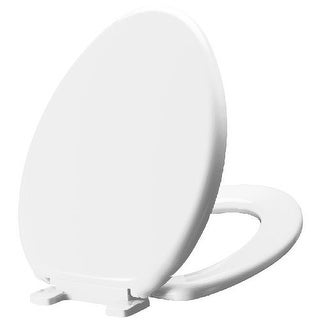 Mirabelle MIRTSSC200 Elongated Slow-Close Toilet Seat with Lid
