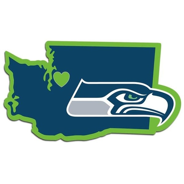 4511e22e79f Shop Seattle Seahawks Decal Home State Pride - Free Shipping On Orders Over   45 - Overstock - 23950729