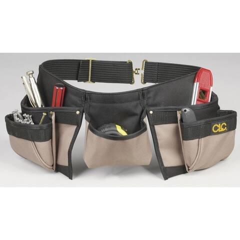 CLC 1370 Carpenters Nail & Tool Bag, 8 Pockets