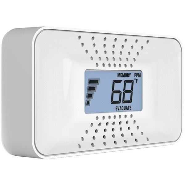 First Alert Co710 Carbon Monoxide Alarm With Temperature, Digital Display & 10-Year Sealed Battery