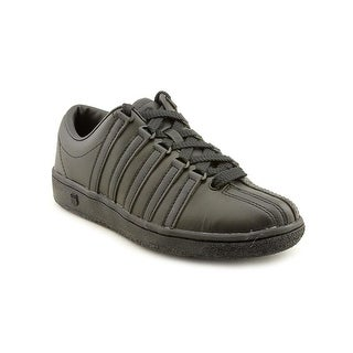 K-Swiss Classic Luxury Edition Round Toe Leather Sneakers