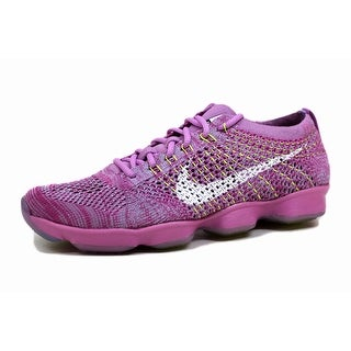 Nike Women's Flyknit Zoom Agility Fuchsia Glow/White-Fuchsia Flash-Volt 698616-500 (2 options available)