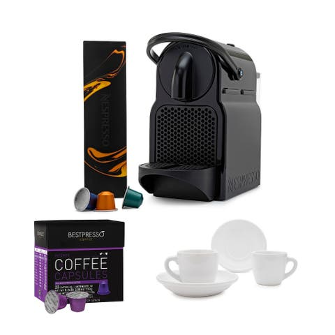 De'Longhi EN80B Nespresso Inissia Espresso Machine with Cups Bundle