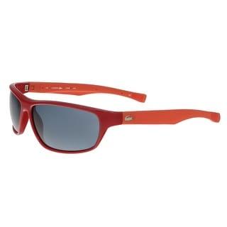 Lacoste L744/S 615 Red Rectangular Sunglasses - 64-14-140