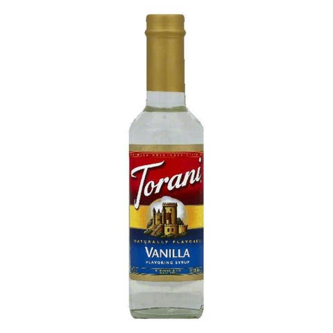 Torani Vanilla Flavoring Syrup, 12.7 OZ (Pack of 4)