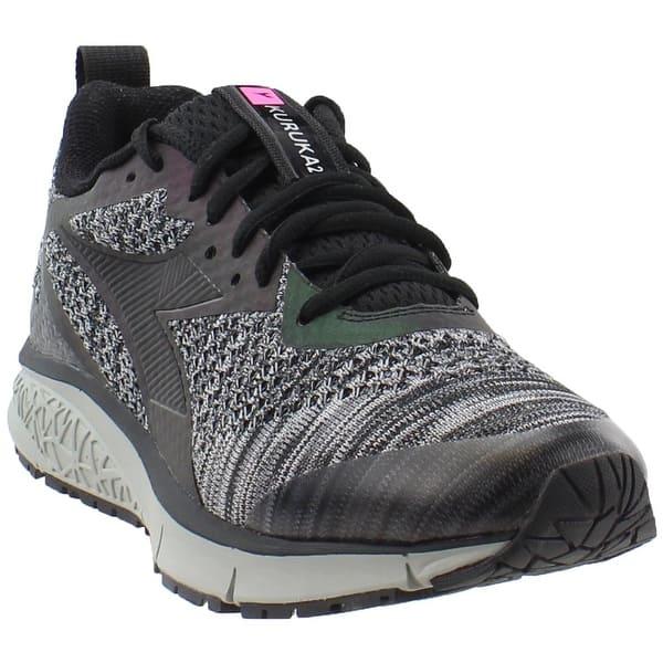8f4b1d21 Shop Diadora Womens Kuruka 2 Black Shape Running Casual Shoes - Free ...