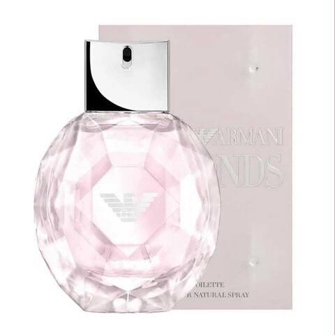 Giorgio Armani Emporio Diamonds Rose Edt Eau De Toilette Spray For Women 1.0 Oz 819918