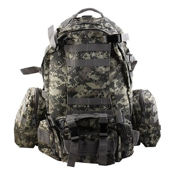 Unique Bargains Outdoor Trekking Camping Hiking Backpack Large Capacity Bag ACU Digital Color