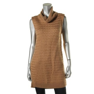 Bailey 44 Womens Stanton Sleeveless Zip Sides Turtleneck Sweater