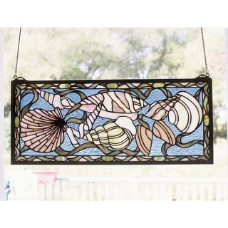 Meyda Tiffany 36431 Stained Glass Tiffany Window from the By the Sea Collection