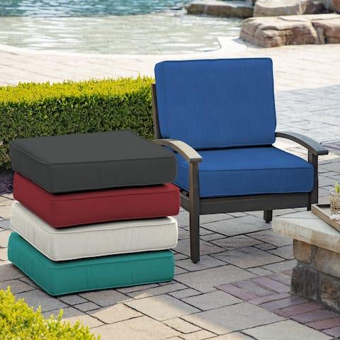Arden Selections ProFoam Acrylic Deep Seat Cushion Set - 24 W x 24 D in.