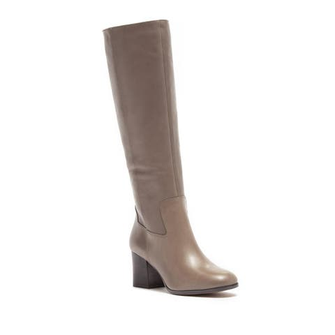 1d161ab63f86 Franco Sarto Womens Anberlin Leather Closed Toe Over Knee Fashion Boots