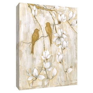 """PTM Images 9-148511  PTM Canvas Collection 10"""" x 8"""" - """"Song of Spring I"""" Giclee Birds Art Print on Canvas"""