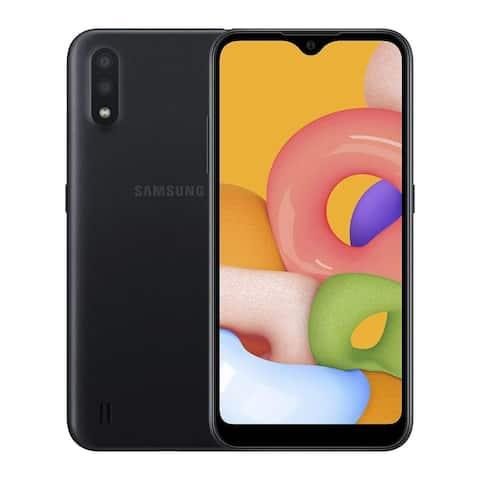 Samsung Galaxy A01 SM-A015 16GB Black Verizon Smartphone
