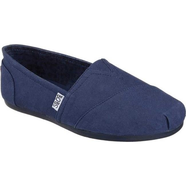 4d526f4b1a61 Shop Skechers Women s BOBS Plush Peace and Love Navy Navy - Free Shipping  On Orders Over  45 - Overstock - 9049659