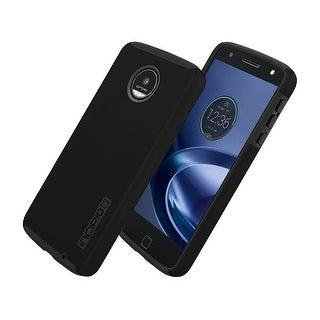 Incipio DualPro Shock-absorbing Case for Moto Z Droid - Black/Black