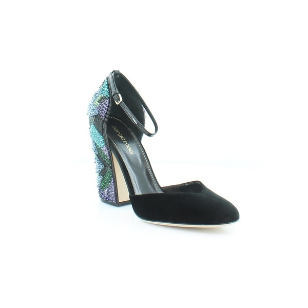 Sergio Rossi Chantal Women's Heels nero+nero+var.blue