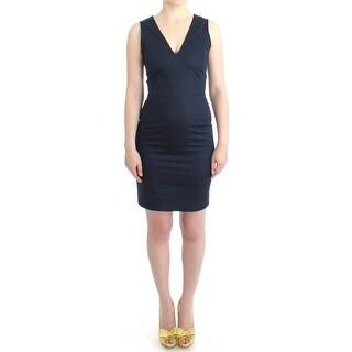 Costume National Blue pencil cotton dress - it40-s
