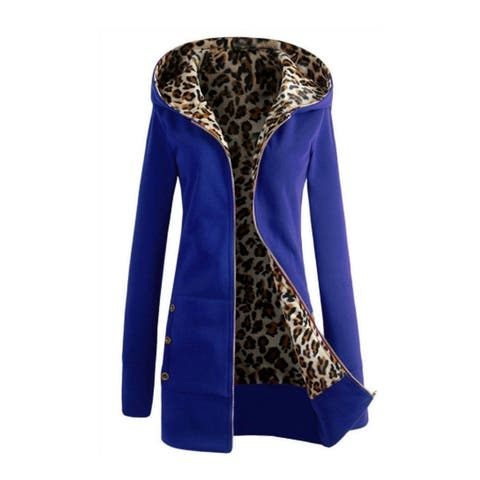 Thickened Leopard Sweater