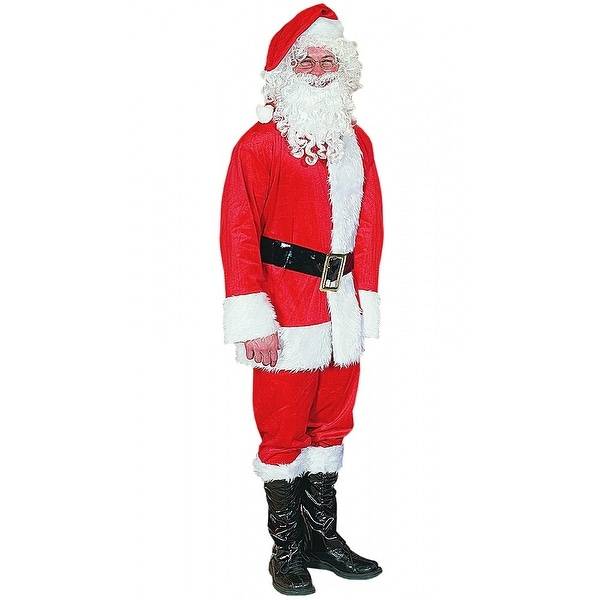 Polyester Santa Suit