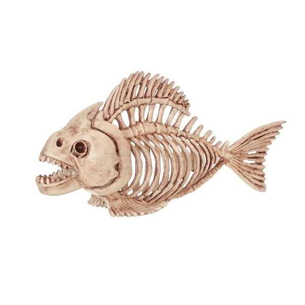 Skeleton Fish Halloween Decoration