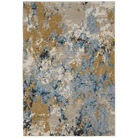 Esperanza Abstract Stone Area Rug