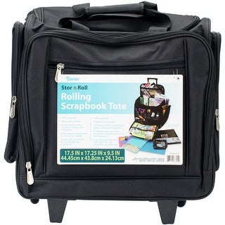 Rolling Tote-Black