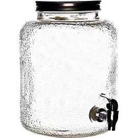 Most Inspiring 2 Gallon Beverage Dispenser - Palais-Glassware-High-Quality-Mason-Jar-Beverage-Dispenser---Traditional-Tin-Screw-Off-Lid---2-Gallon-Capacity--  Image_93691.jpg