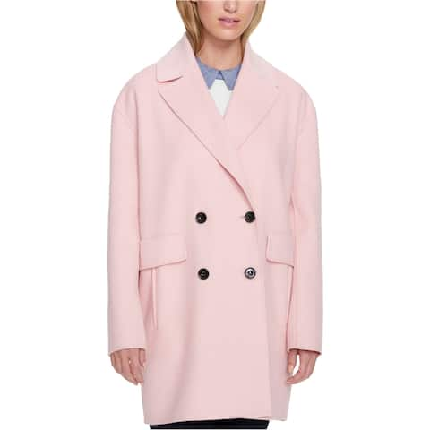 Tommy Hilfiger Womens Double-Breasted Coat