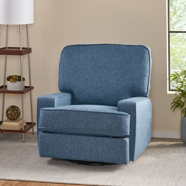 Crockett Traditional Glider Recliner with Swivel by Christopher Knight Home. Opens flyout.