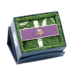 Stainless Steel and Enamel Minnesota Vikings Money Clip - Multicolored