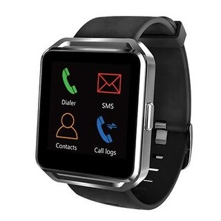 Supersonic Bluetooth Smart Watch Black (Each)