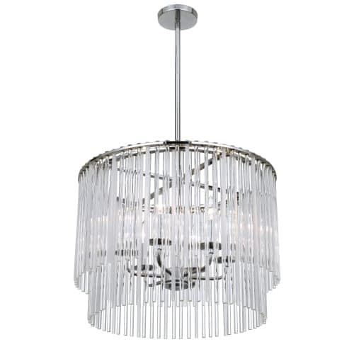 Crystorama Lighting Group 396 Bleecker 6 Light 22 Wide Drum Chandelier Free Shipping Today 24802679