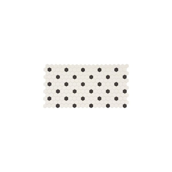 Daltile Dk1hexmsp Keystones 1 X Hexagon Mosaic Multi Surface Tile