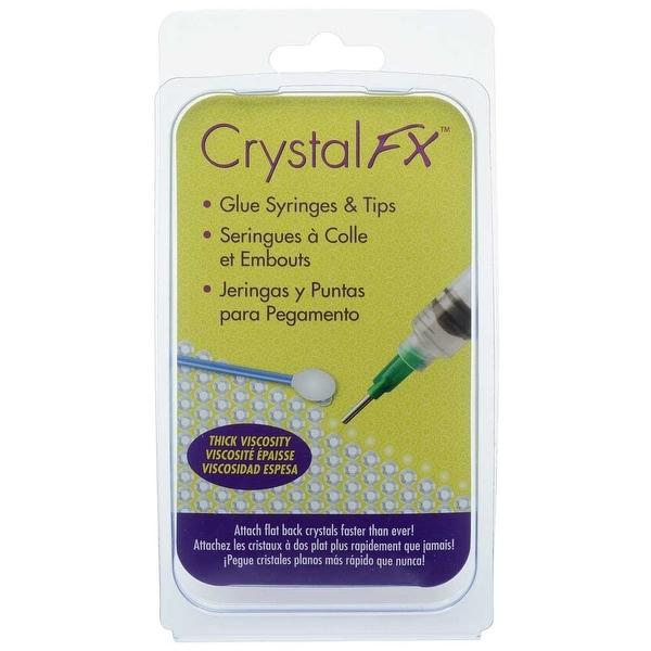 acbd6e006b BeadSmith CrystalFX, Syringes & Tips for E6000 Glue, 4 Syringes / 2 Caps /  4 Tips (14 & 16 Gauge)