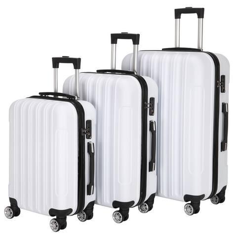 Multifunctional Large Capacity Traveling Storage Suitcase Luggage( Set of 3)