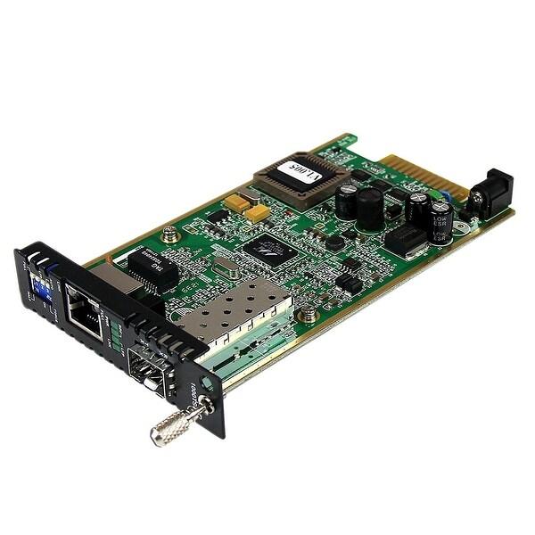 Startech - Et91000sfp2c Open Sfp Fiber To Ethernetnconverter Card Module